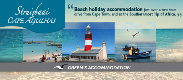 GREEN'S ACCOMMODATION Struisbaai & Cape Agulhas