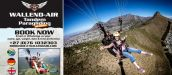 WALLEND-AIR PARAGLIDING SCHOOL, CAPE TOWN