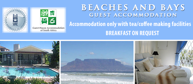 BEACHES AND BAYS GUEST ACCOMMODATION, BLOUBERGRANT