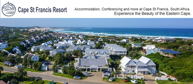 cape st francis resort, beach accommodation, luxury beach villas, western cape, upmarket beach cottages, affordable apartments, seaside breakways