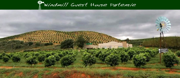 THE WINDMILL GUEST HOUSE, PATENSIE