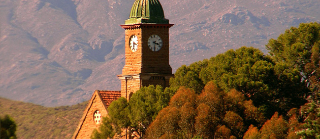 Calitzdorp, in the Western Cape, South Africa