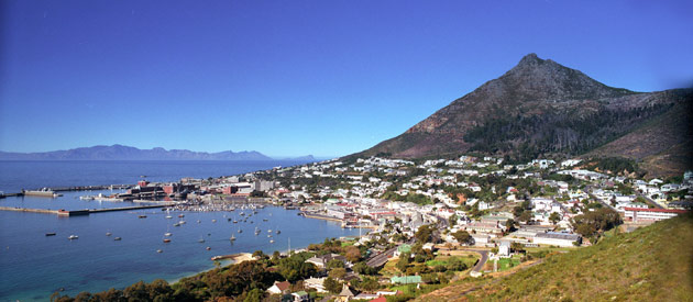 Cape Town - Simon's Town, in the Western Cape, South Africa