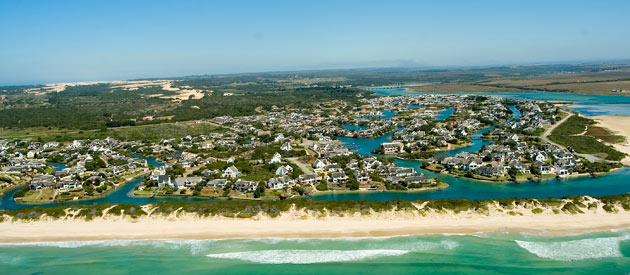 St. Francis Bay South Africa  city photos gallery : St Francis Bay, in the Eastern Cape province of South Africa.