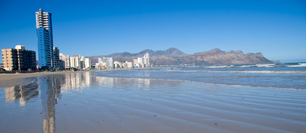 Strand, in the Western Cape, South Africa.